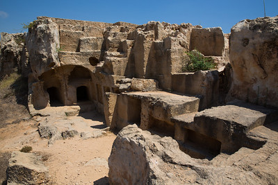 Tombs of the Kings , Paphos , Cyprus