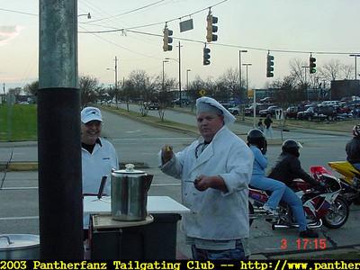 Panthers vs. Dallas WILDCARD GAME Jan 3rd 2004