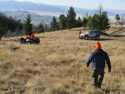 Montana Elk Hunt 2008