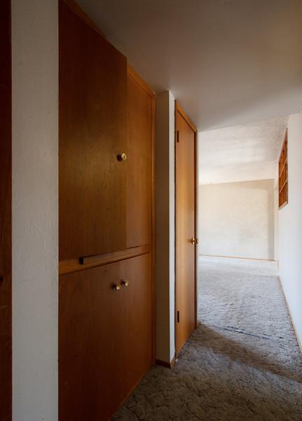 The hallway closets - Phoenix, May 2012