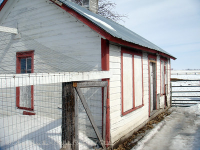 Old Barns and fences