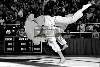 1983 British Open Judo Championships 23 April