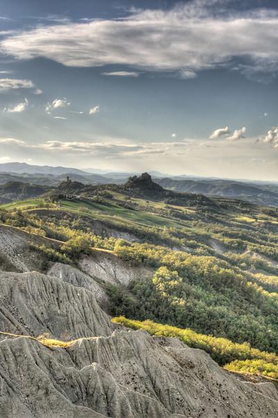 Badlands - Canossa, Reggio Emilia, Italy - September 15, 2012