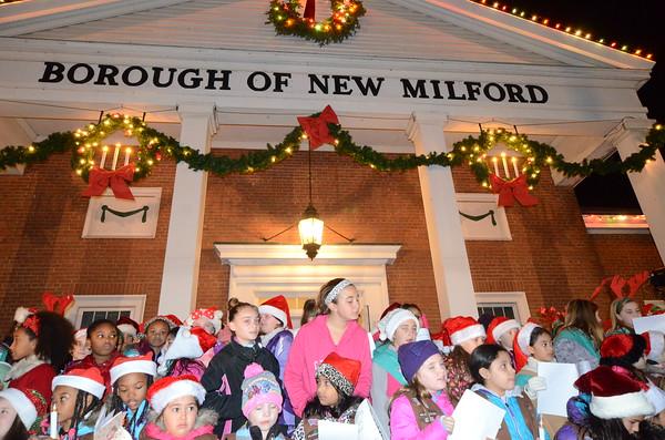 12/04/16 - New Milford Annual Christmas Tree Lighting