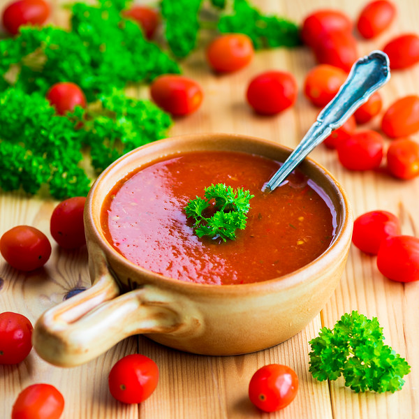 Tomato and pepper soup