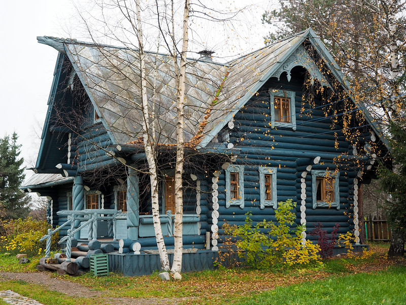 Home in Mandrogy, Russia