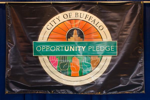 10/27/15 City of Buffalo Opportunity Pledge Signing Ceremony
