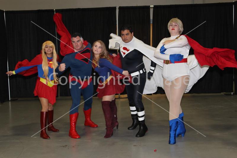 DC Cosplayers photo shoot at NJ Comic Expo 2015