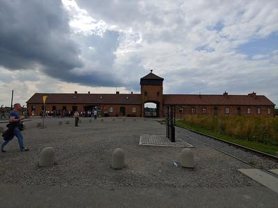 Krakow, Poland - Auschwitz Holocaust Memorial