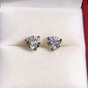 1.85ctw Old European Cut Diamond Stud Earrings 17