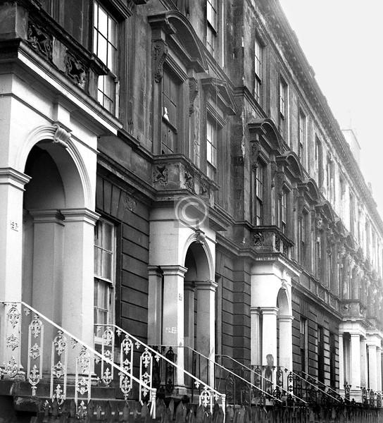 Hill St., south side opposite Garnethill St.  March 1974