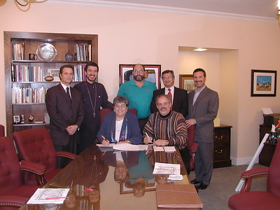Community Life - LaRoche Property Contract Signing - December 18, 2006