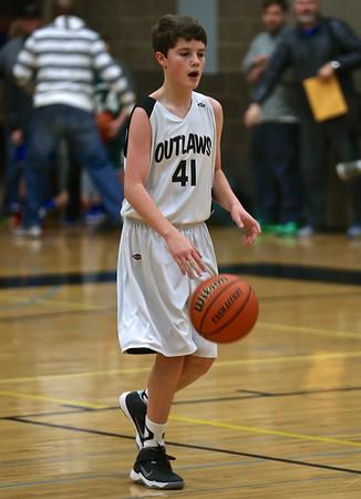 Outlaws 8th Grade Boys Basketball @ Central Oregon Shootout 1-17-15