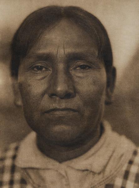 A Maidu woman (The North American Indian, v. XIV. Norwood, MA, The Plimpton Press, 1924)