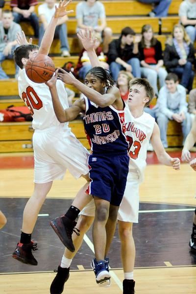 Thomas Johnson High at Linganore Lancers - JV Basketball