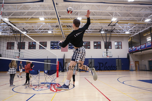 2019-4-8 WHS Boys Volleyball preseason practice