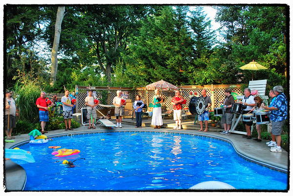 2013-08-10 Levey's Band Party