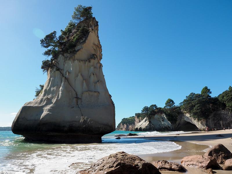 Te Hoho Rock at Cathedral Cove