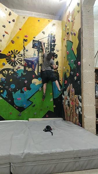 Hatcheting and Climbing Wall Meeting