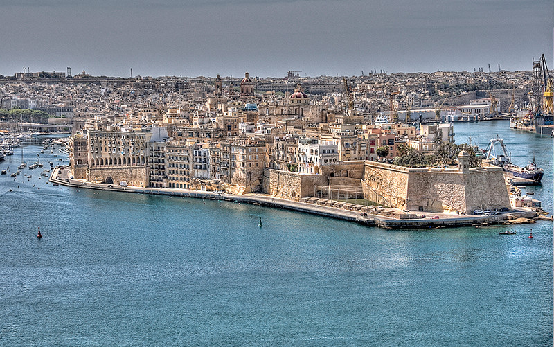 View from Valleta