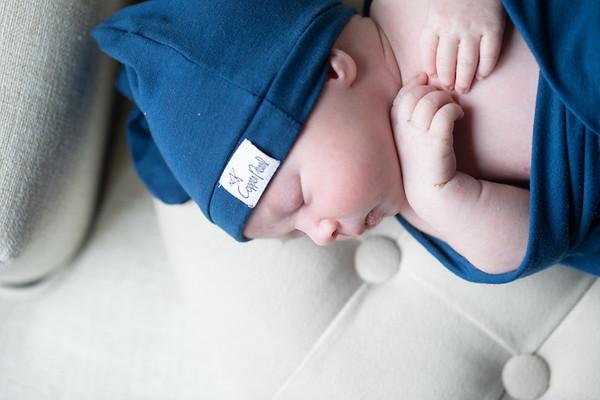 Newborn Lifestyle Session: Liam