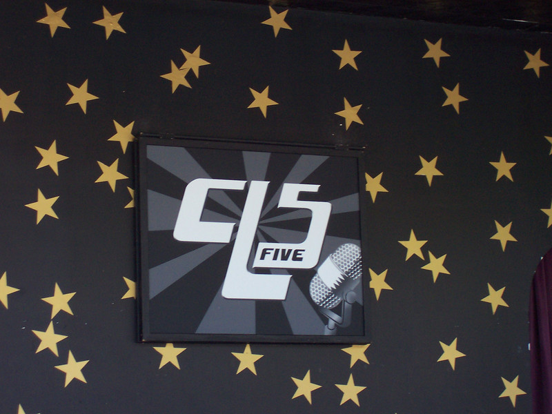 The new CL-5 sign.