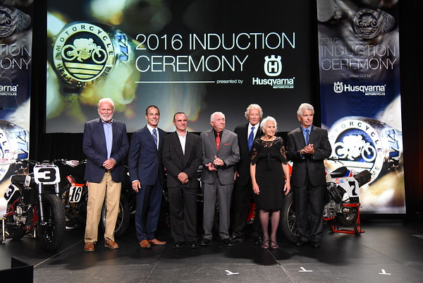 2016 AMA Motorcycle Hall of Fame Induction Ceremony