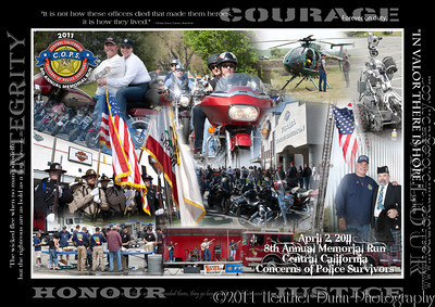 CENTRAL VALLEY C.O.P.S. MOTORCYCLE RUN 2011