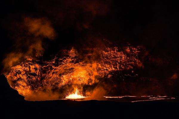 Halema'uma'u Crater, Kilauea