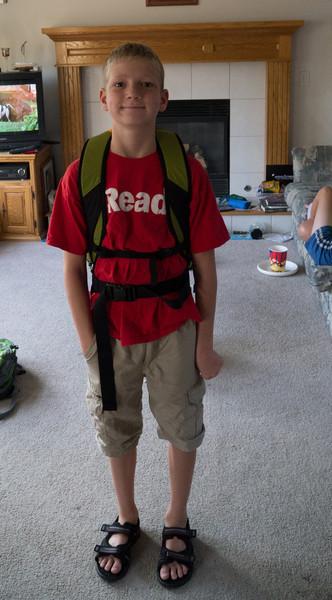 First Day of School Adam 6th grade Ryan 3rd 2012