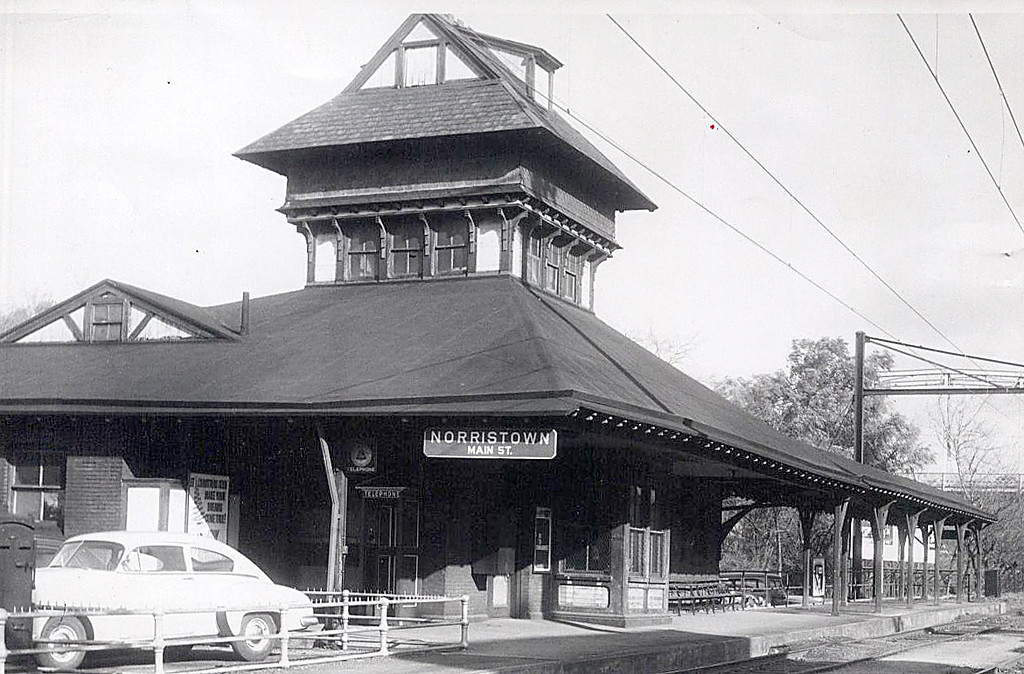. This undated Times Herald file photo shows the Main Street Station at the corner of Main and Markley streets in Norristown.