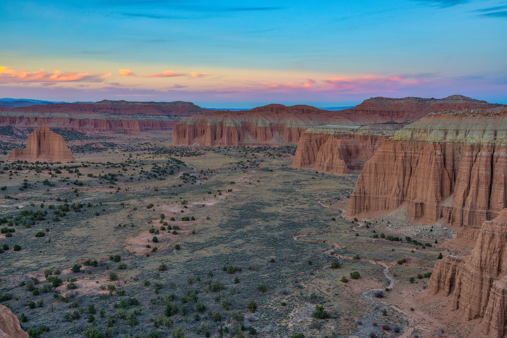 Cathedral Valley Capitol Reef National Park Utah