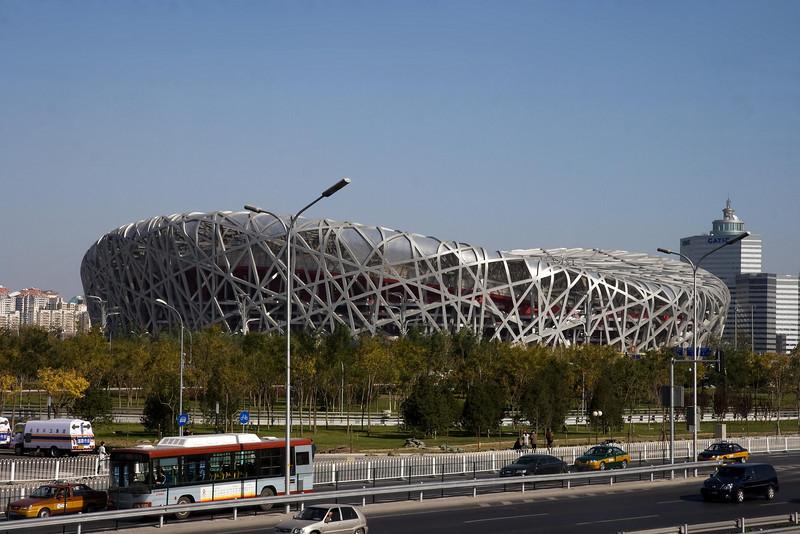 Bird's Nest - Beijing National Stadium, Beijing, China (11-4-08).psd