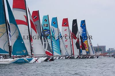 Day 4- Extreme Sailing Series Boston