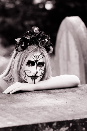 Day of the Dead - two -b/w