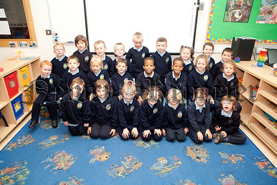 New Primary 1 Class at St Peter's PS Cloughreagh. Pictured is Miss Bannon's  class. R1338017