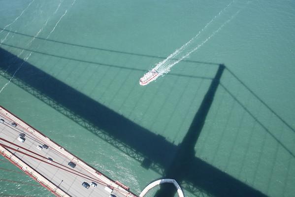 Golden Gate Bridge Tower Tour - Monday June 30th, 2008