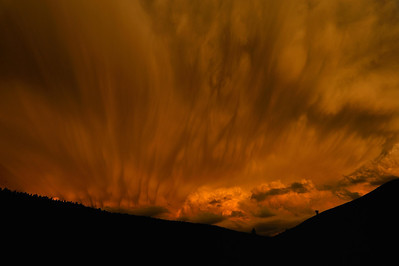 Storm at sunset in Cuchara