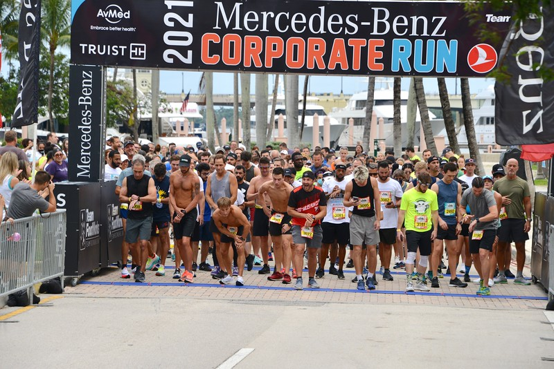 2021 West Palm Beach Mercedes Benz Corporate Run presented by Turkish Airlines