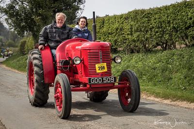 Beadlam tractor run April 2017