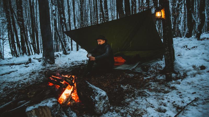 Cezar Machidon Dormit in Padure Iarna-2.jpg