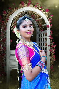Sahithi's Half Saree Ceremony