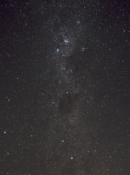 Milky Way around the Southern Cross - 3/2/2016 (Re-processed cropped stack)