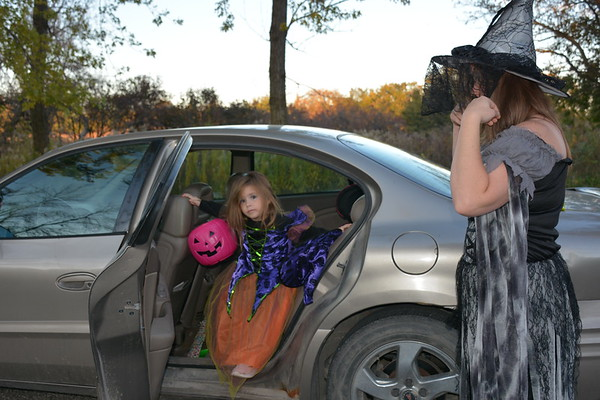 Trick or treat at the campgrounds