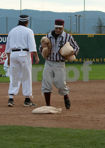 Two stolen bases, and he's at third.