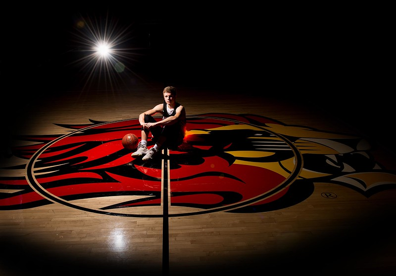 Senior guy - sports session - basketball - Linn Mar High School - marion iowa - TruYou Photography - 1.jpg