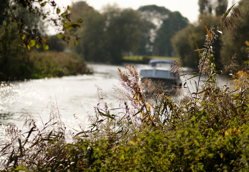 The River Great Ouse, Cambridgeshire