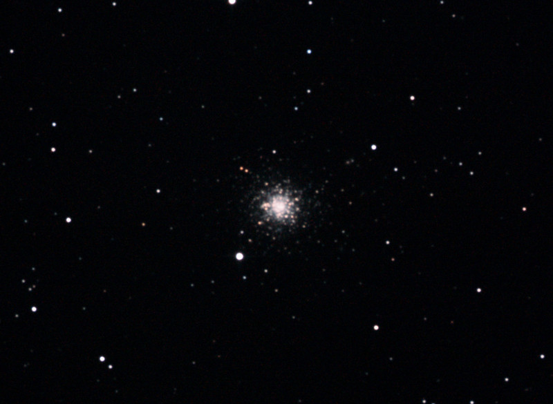Caldwell 87 - NGC1261 - Globular Cluster in Horologium - 20/10/2012 (Processed cropped stack)