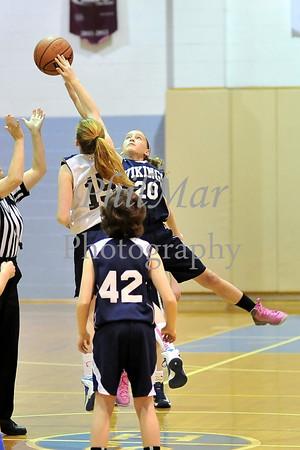 Girls 6th Grade Basketball - St. Ignatius vs Conrad Weiser 2013 - 2014
