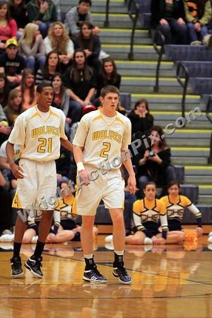 2010 01 22 Clarkston Varsity Basketball vs North Farmington
